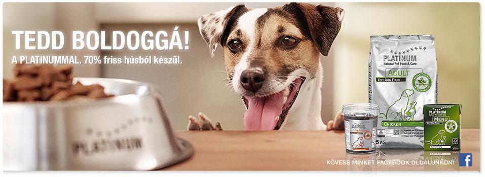PLATINUM Prémium kutyatápok - Tedd hát boldoggá a PLATINUMMAL
