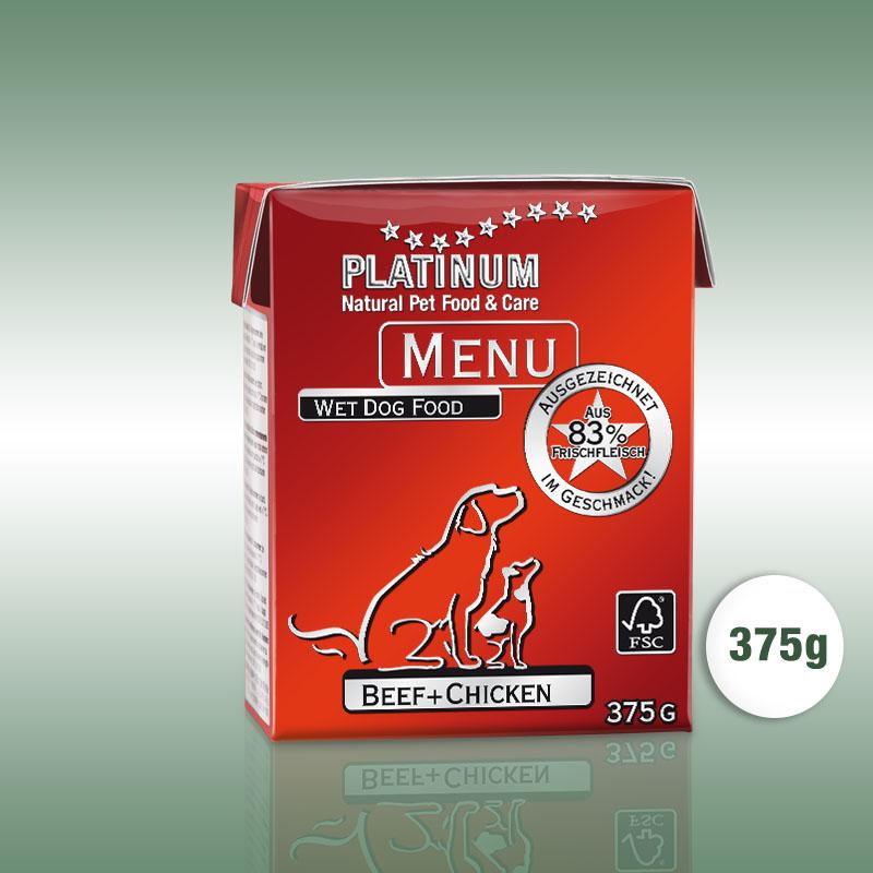 PLATINUM MENU Beef + Chicken / Marha + Csirke