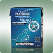 PLATINUM MENU Fish+Chicken / Hal+Csirke nedvdestáp / konzerv kutyák számára