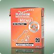PLATINUM MENU Turkey+Salmon / Pulyka+Lazac teljesértékű nedvetáp / konzerv kutyák számára