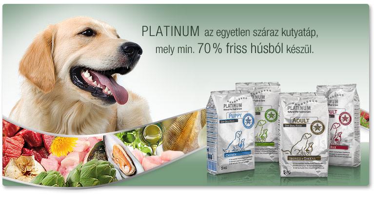 Platinum száraz kutyatáp